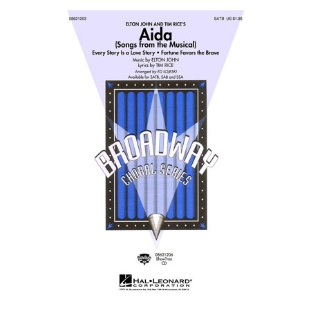 Halloween Songs From Musicals (Hal Leonard Aida (Songs from the Musical) SAB Arranged by Ed)