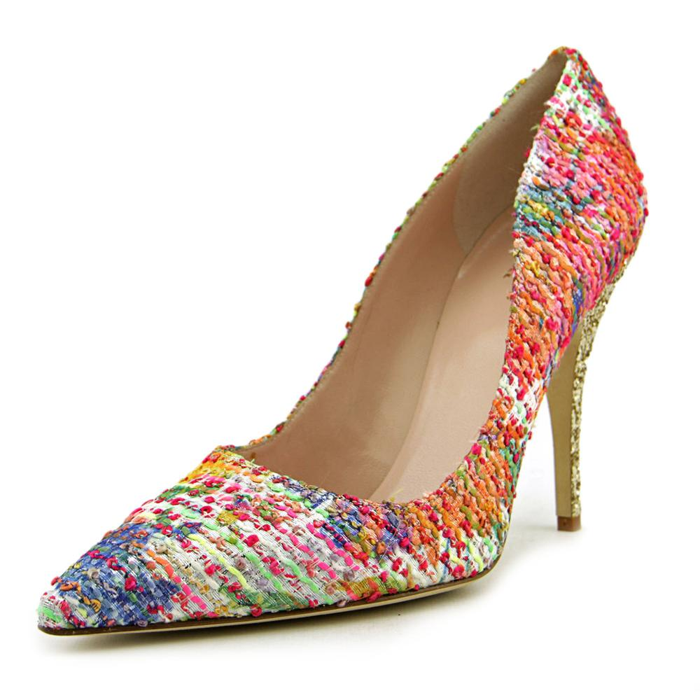 Kate Spade Licorice Women Pointed Toe Leather Multi Color Heels by kate spade