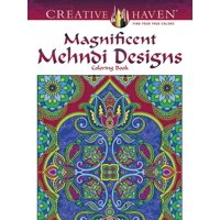 Creative Haven Coloring Books: Creative Haven Magnificent Mehndi Designs Coloring Book (Paperback)