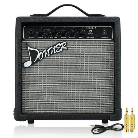 donner electric guitar amplifier 10 watt classical guitar amp dea 1. Black Bedroom Furniture Sets. Home Design Ideas