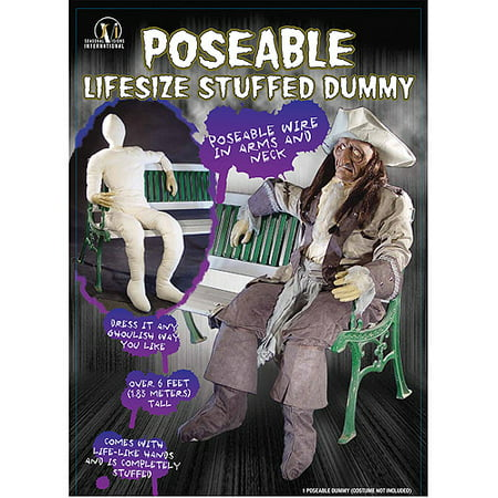 Dummy Poseable With Arm And Hands Halloween Prop (Cardboard Props For Halloween)
