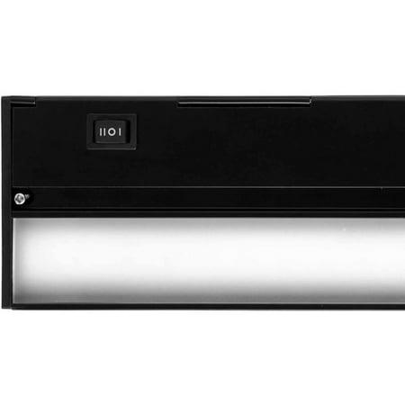 nicor 8 led under cabinet lighting fixture. Black Bedroom Furniture Sets. Home Design Ideas