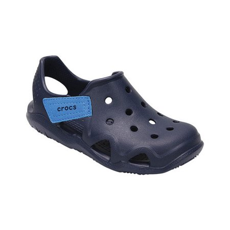 Crocs Swiftwater Wave K   Round Toe Synthetic  Clogs
