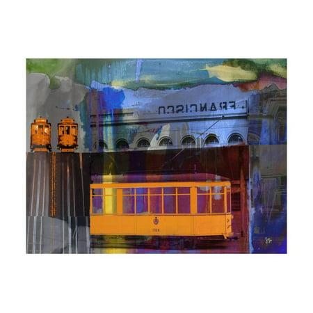 San Francisco Trolley Car Print Wall Art By Sisa Jasper