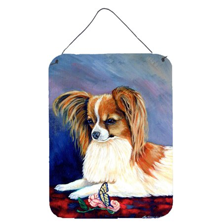 Sable Papillon with a Butterfly and rose Aluminium Wall or Door Hanging Prints