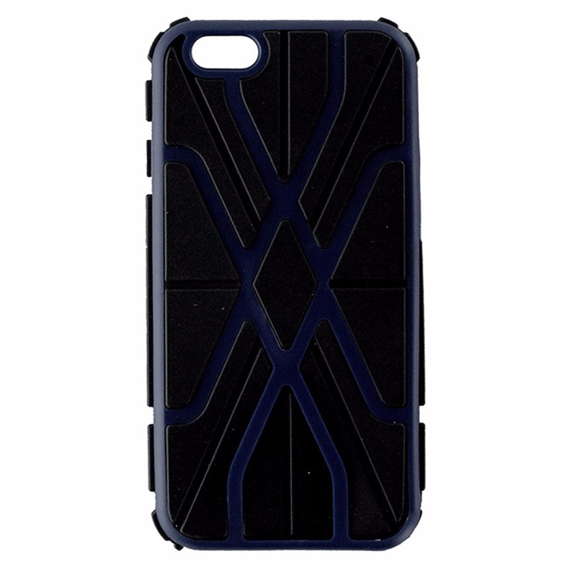 Accellorize Shockproof Dual Layer Case for iPhone 6 / 6s - Black/Blue/Red/Purple