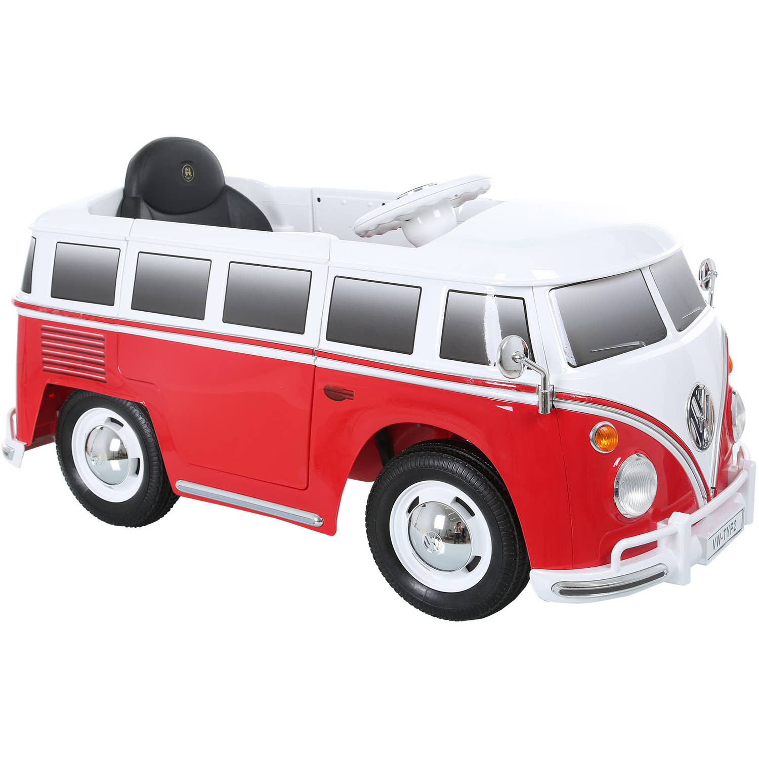 rollplay vw type 2 bus 6 volt battery powered ride on walmartcom