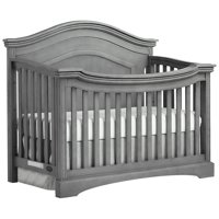 Evolur Adora Curve Top Convertible Crib, Storm Gray