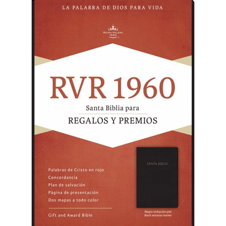 Span-RVR 1960 Gift And Award Bible-Black Imitation Leather (Biblia Para Regalos Y Premios)](Idee Regalo X Halloween)