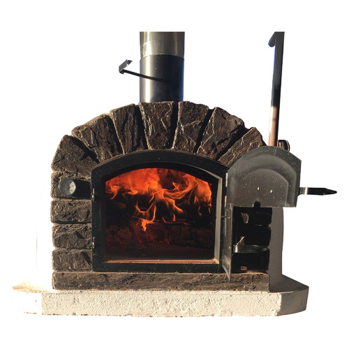 Authentic Pizza Ovens Traditional Brick Famosi Wood Fire Pizza Oven