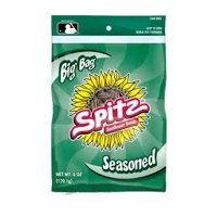 Spitz Seasoned Flavored Sunflower Seeds 6 ounce Resealable Big Bag""""