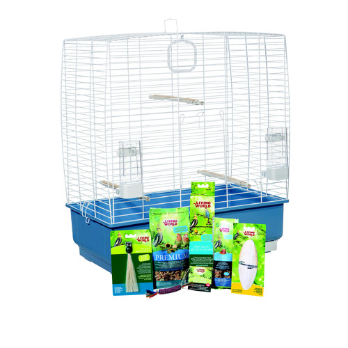 Hagen Living World Cockatiel Starter Kit
