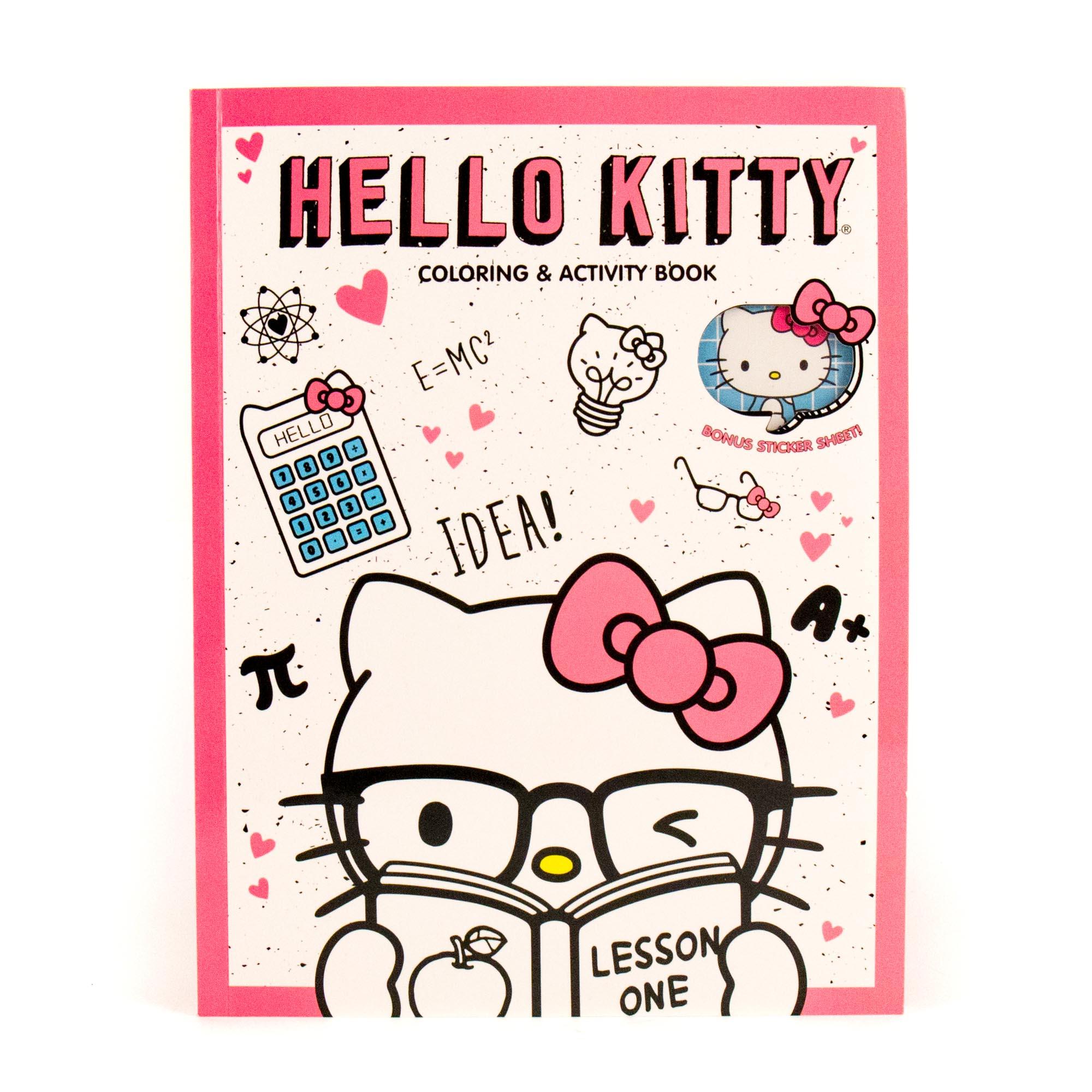 Hello Kitty Coloring Book 90 Pgs Walmartcom