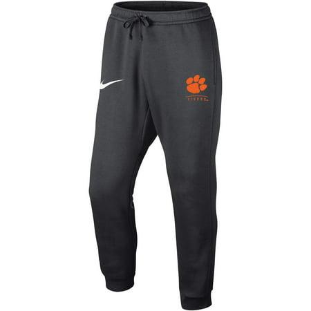 Clemson Tigers Nike Club Fleece Joggers - Anthracite