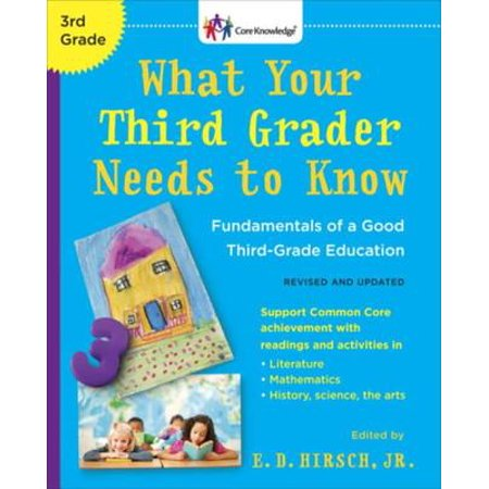 What Your Third Grader Needs to Know (Revised and Updated) - eBook - Halloween Books For Third Graders