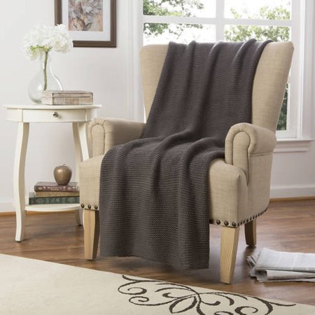 Better Homes And Gardens Chunky Knit Throw Blanket