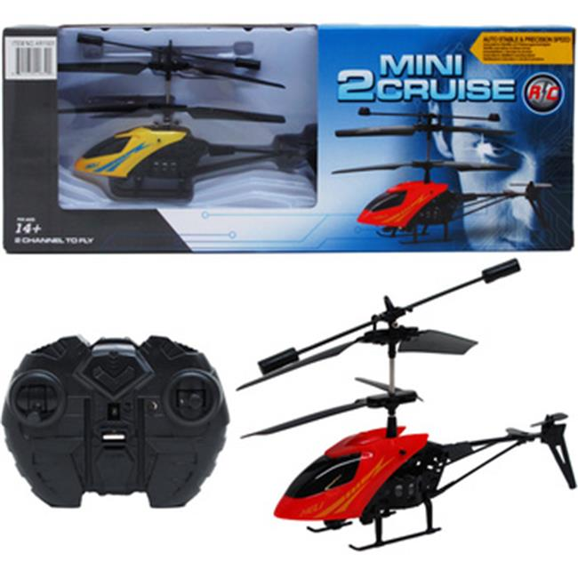DDI 2272623 Mini 2 Cruise Helicopter Case of 24 by DDI