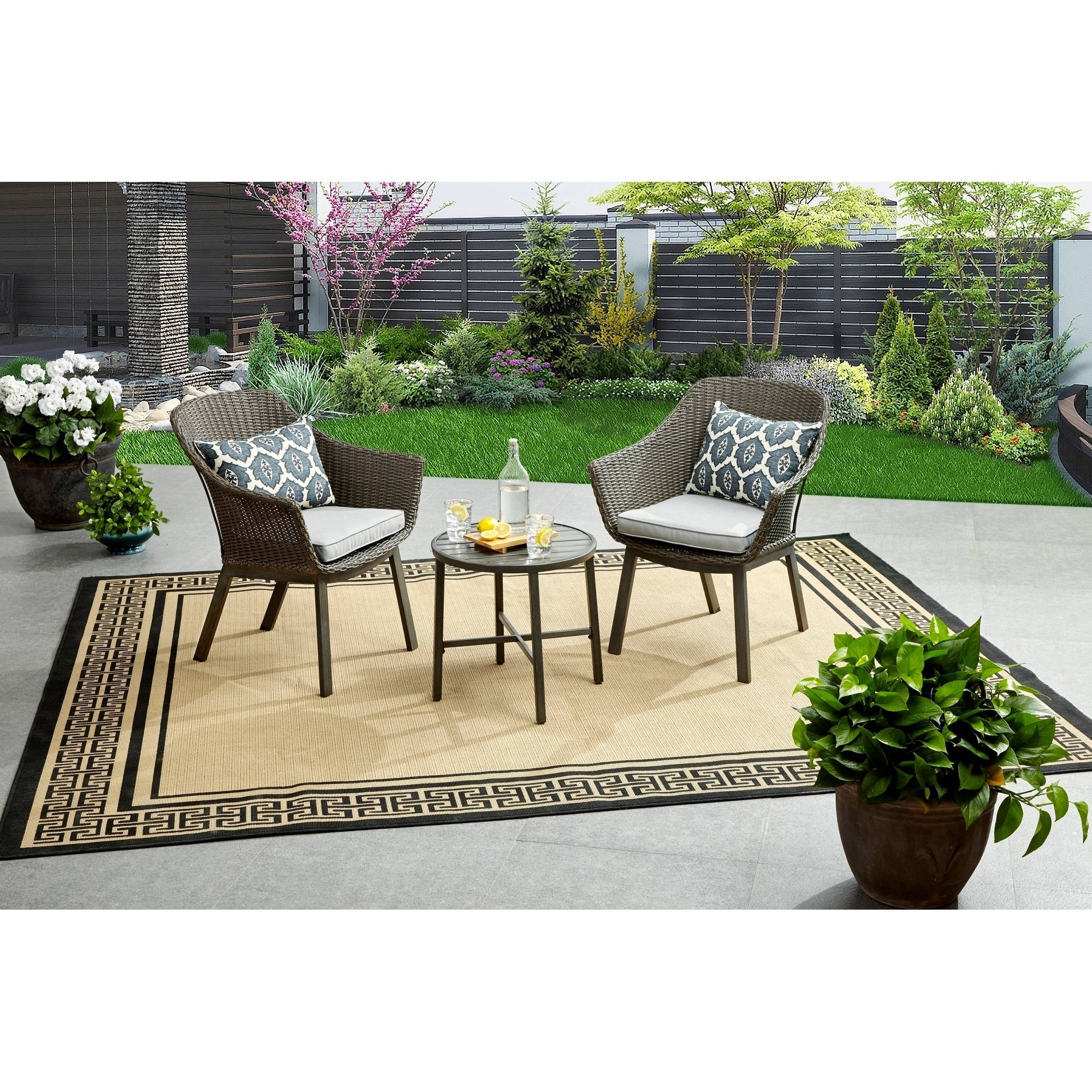 Better Homes and Gardens Cason Cove Contemporary Bistro Set by