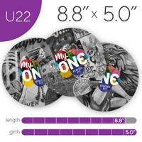 MyONE Condoms Size U22, 6-Count