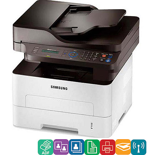 Samsung SLM2875FW Xpress M2875FW Wireless Multifunction Laser Printer, Copy Fax Print Scan by Samsung