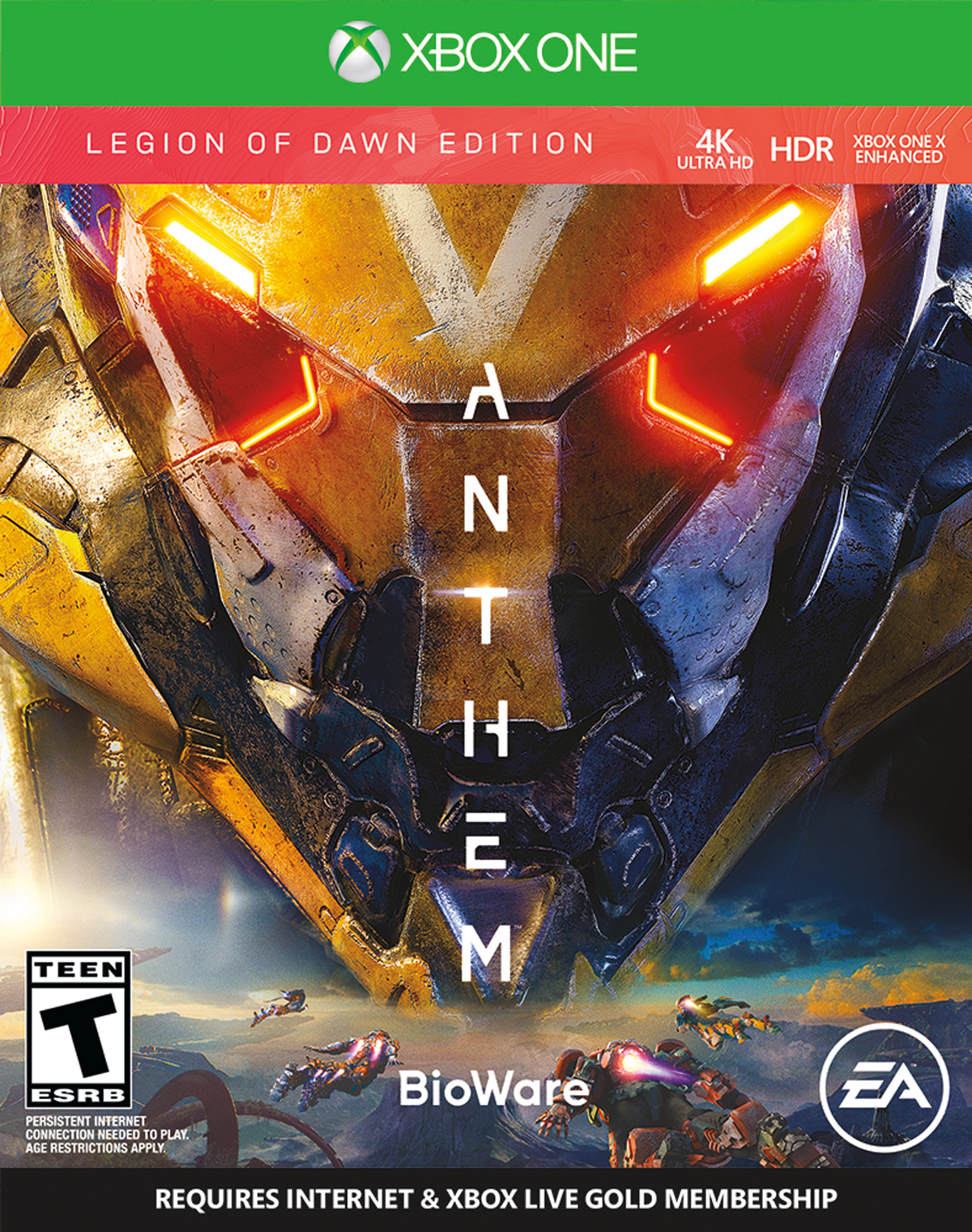 Anthem Legion of Dawn, Electronic Arts, Xbox One, 014633739190