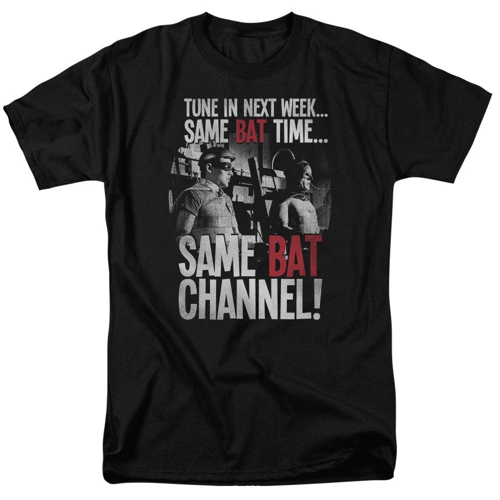 DVRunlimited BATMAN CLASSIC TV/BAT CHANNEL-S/S ADULT 18/1...