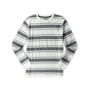 Tony Hawk Mens Striped Pullover Knit Sweater