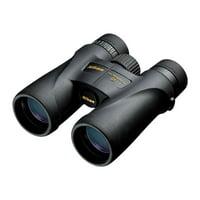 Nikon 7576 Monarch 5 8x42 Lightweight Waterproof and Fogproof Binoculars, Black