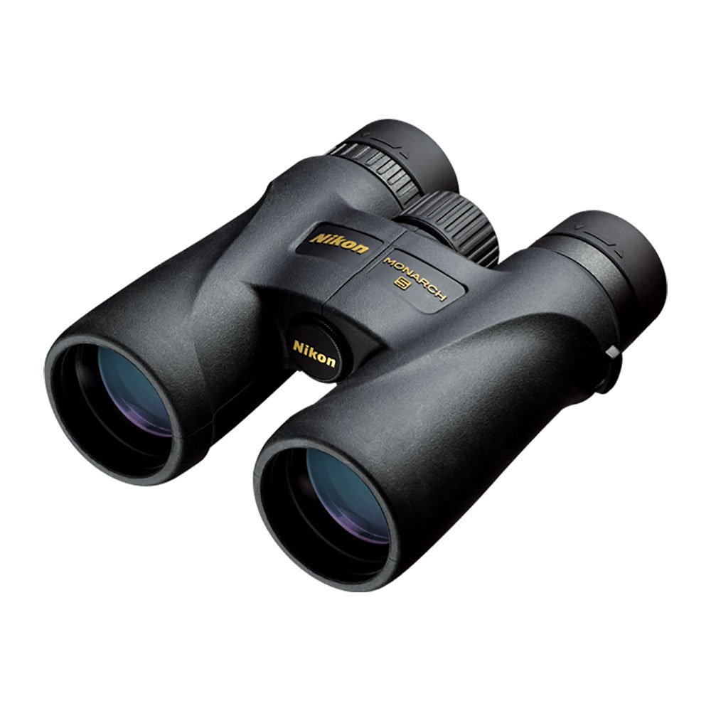 Nikon 7576 Monarch 5 8x42 Lightweight Waterproof and Fogproof Binoculars, Black