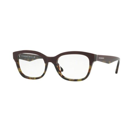 Authentic Burberry Eyeglasses BE2257 3651 Bordeaux Green Frame 51mm ...