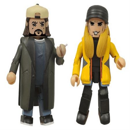 Diamond Select Toys Jay & Silent Bob Strike Back Minimates Action Figure, Pack of