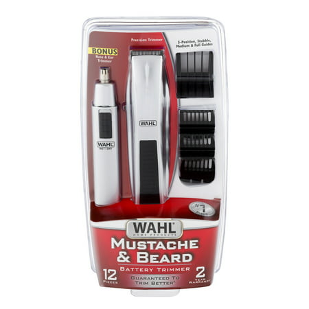 wahl mustache beard battery trimmer 1 0 ct. Black Bedroom Furniture Sets. Home Design Ideas