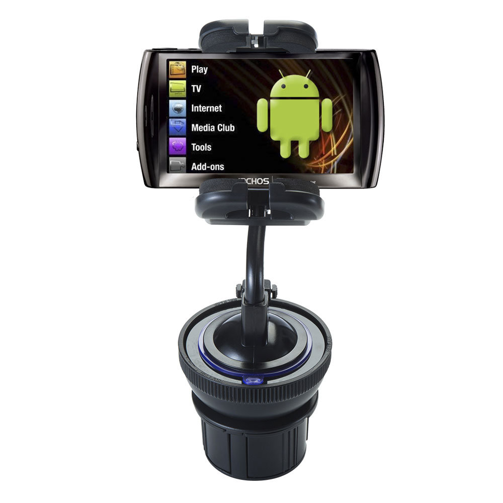 Unique Auto Cupholder and Suction Windshield Dual Purpose Mounting System for Archos 5 Internet Tablet with Android... by