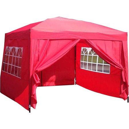 Exacme 10 X 10 Ez Pop Up 4 Walls Canopy Party Tent Heavy