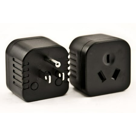 VCT Electronics VP28 Travel Adapter Converts Australia, New Zealand, China Plugs to USA Outlet Plug (Australia Adapter Plug)