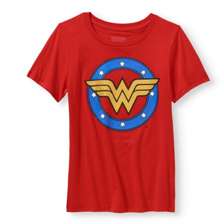 DC Comics Wonder Woman Logo Graphic T-Shirt (Little Girls & Big Girls) ()