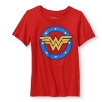 DC Comics Wonder Woman Logo Graphic T-Shirt (Little Girls & Big Girls)