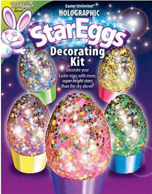Easter Unlimited Holo Star Egg Decorating Kit