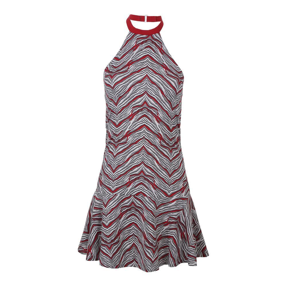 Women`s Incline Tennis Dress Sprint Print
