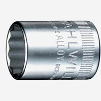 "Stahlwille 40D 12-pt 1/4"" Socket, 11 mm"