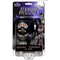 Mezco 5 Points: The Addams Family Grandma, Wednesday and Thing