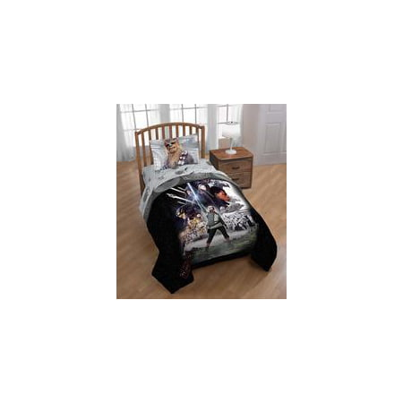 Star Wars Ep 8 'Epic Poster' Reversible Twin Comforter