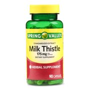 Spring Valley Milk Thistle Extract Capsules, 175 mg, 90 Count