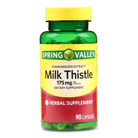 Spring Valley Milk Thistle Extract Capsules, 175 Mg, 90 Ct Saventaro 90 Capsules