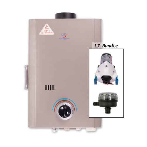 Eccotemp L7-PS 1.7 Gallon Point-of-Use Liquid Propane Tankless Water Heater with 41,000 Maximum BTU... by Eccotemp