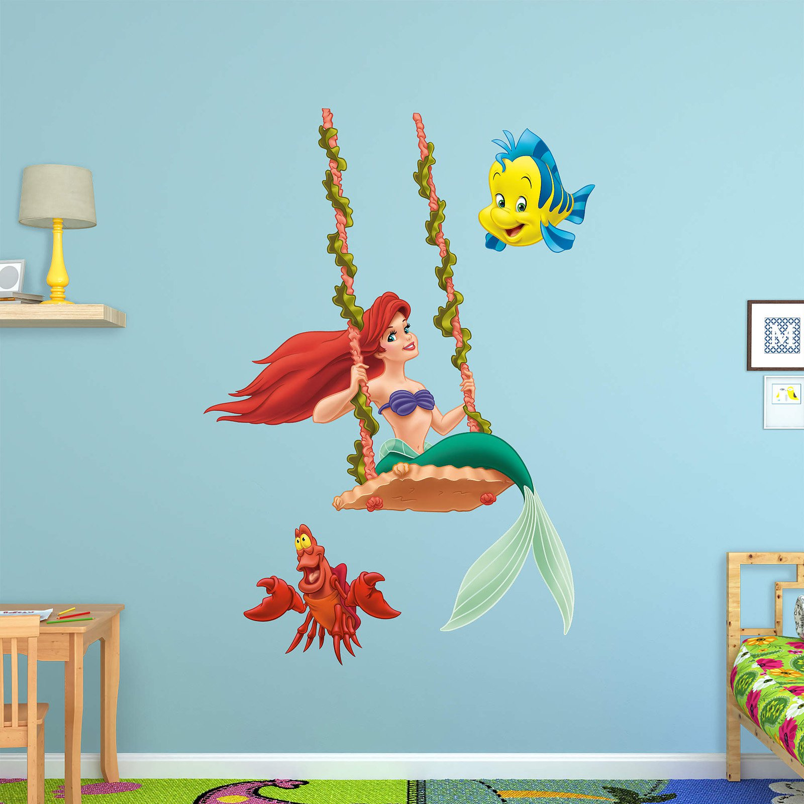 Fathead Ariel Swinging Wall Decal