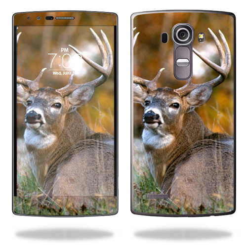 MightySkins Protective Vinyl Skin Decal for LG G4 wrap cover sticker skins Deer