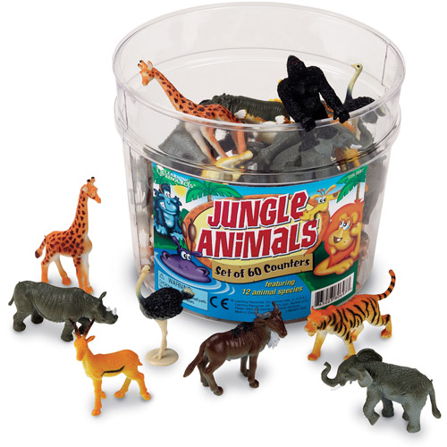 Learning Resources Jungle Animal Counters