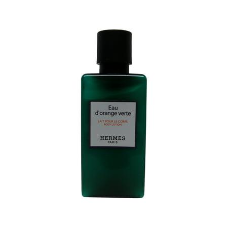 Hermes d'Orange Verte Lotion lot of 10 each 1.35 oz Bottles. Total of 13.5 Oz Hermes Body Cream
