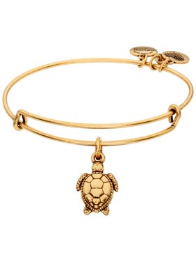 Alex And Ani Sea Turtle Gold One Size Bracelet A17INTSEARG